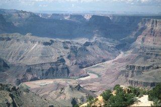 Usa 97 pag 13 grand canyon arizona north rim fiume for Grand canyon north rim mappa della cabina
